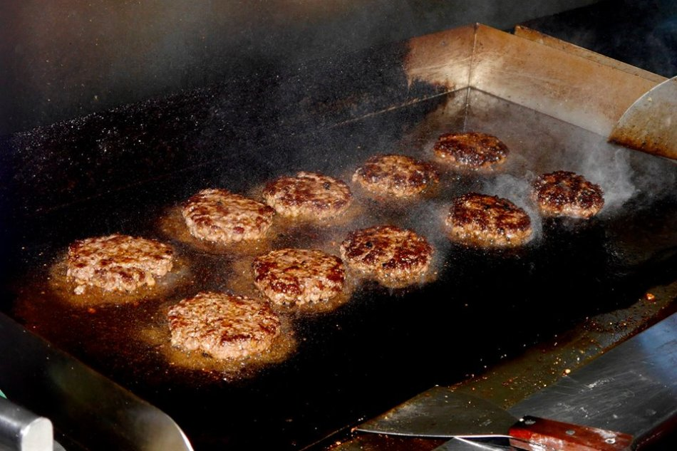 That was an interesting launch gambit. Anyway after the speech and opening ceremony our burgers were finally sizzling on the grill.