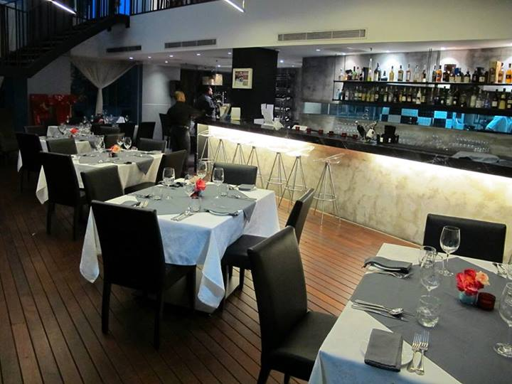 The main dining hall on the ground floor is a combination of modern and stylish design.