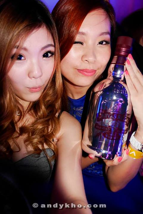 Crystal and Valerie with our Chivas magnum this time