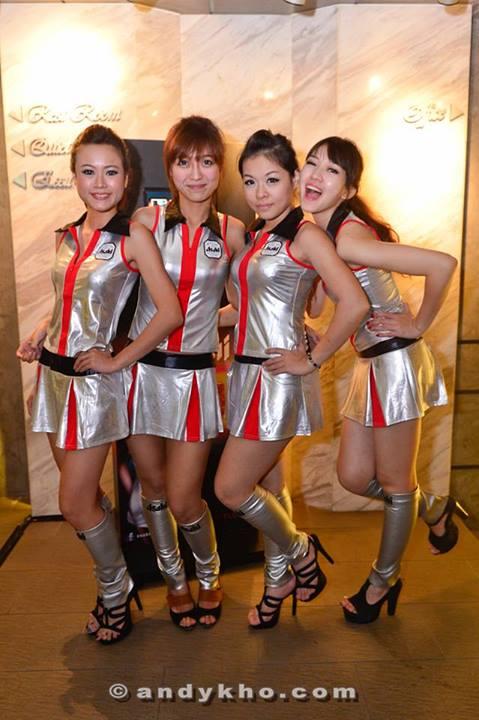 More Asahi girls