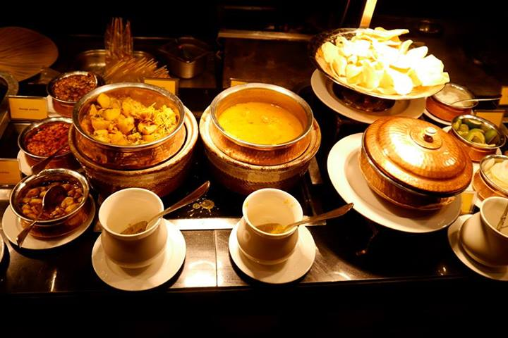 A good spread of Indian dishes
