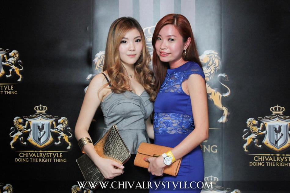 Crystal with MHB's Valerie Chua
