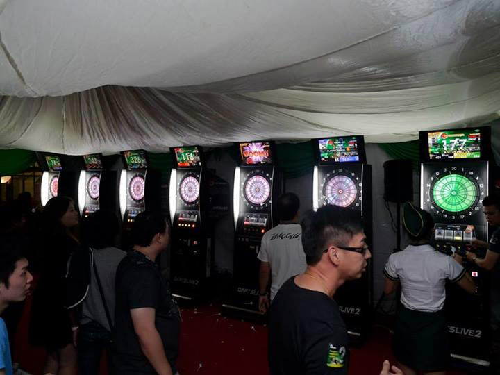 i Darts anyone? Good to see more dart machines this time round as they were very popular at the previous WTP in Penang. Beer and darts are natural companions after all!