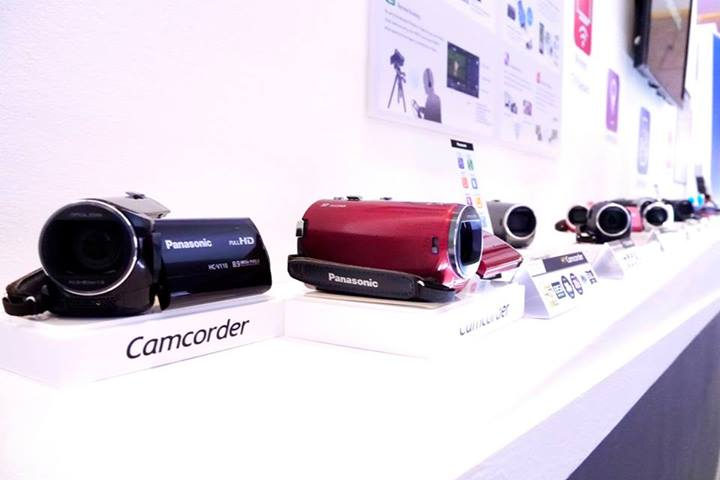 For those of you who like making YouTube videos Panasonic has a range of videocams as well