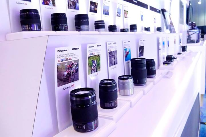 There is a wide selection of Lumix lenses to go with the G series cameras