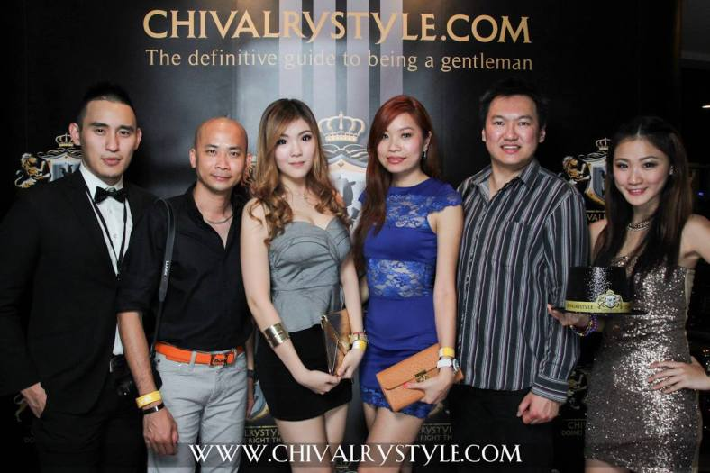 With Andy Kho, Crystal Tan, Valerie Chua and the models