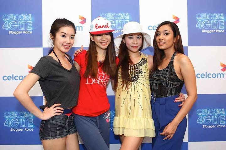 Some photos before the race began - Jiayeen, Mei Sze, Sarah and Kay