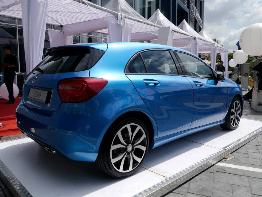 The new A200 retails in Peninular Malaysia at only RM198,888.00 OTR
