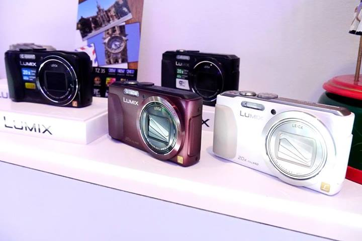 There are Lumix cameras to suit most individual's budget and shooting requirements