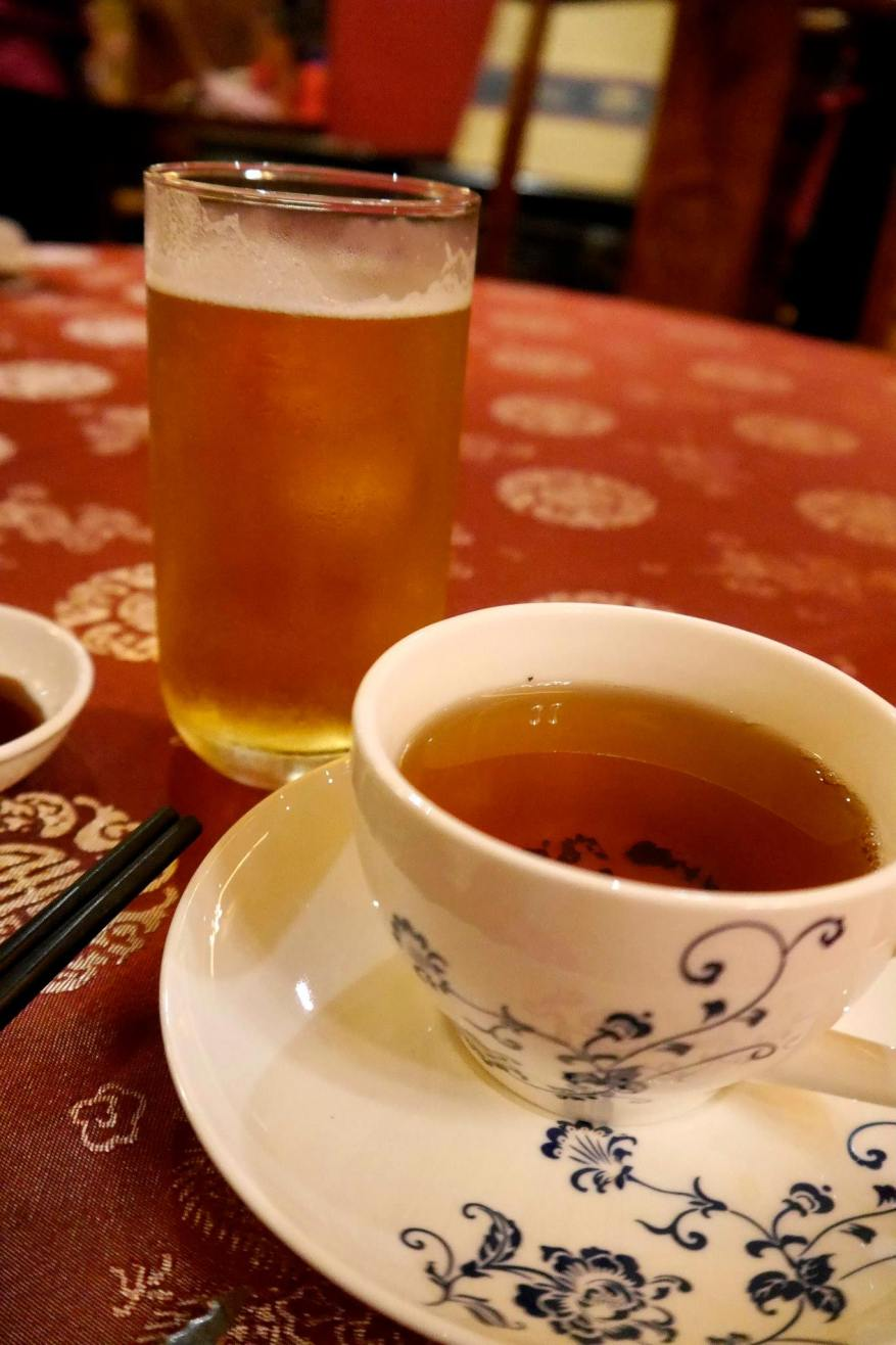 Chinese Tea and Carlsberg