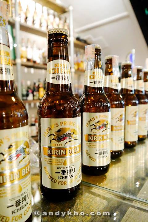 """Kirin Ichiban is synonimous with """"fulfillment"""" and """"happiness""""."""