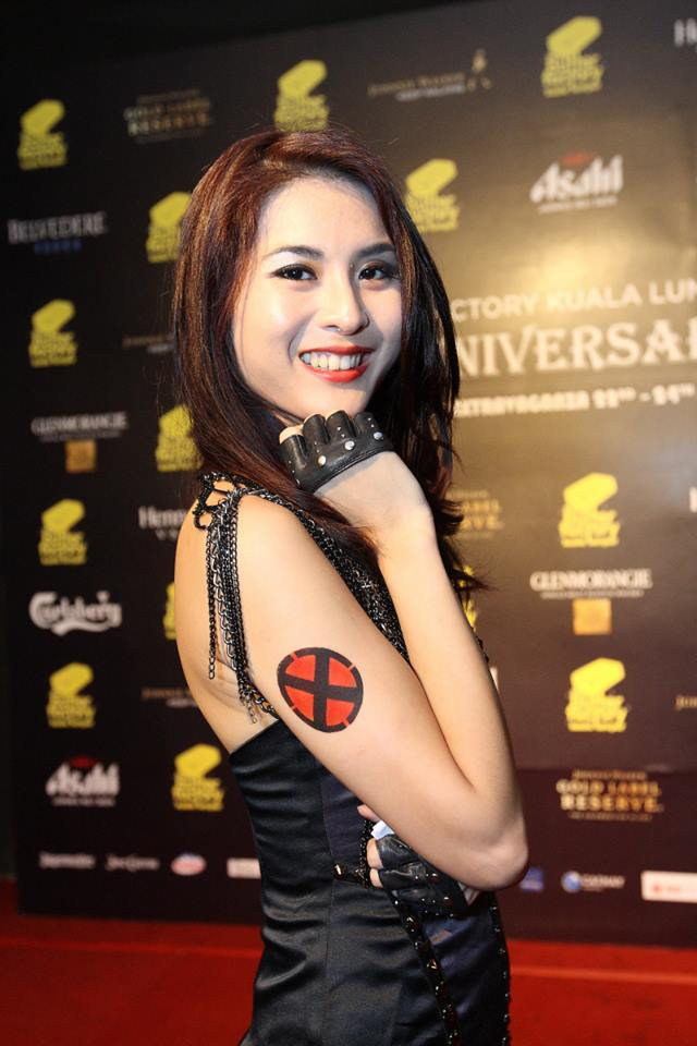 The host of the parties was FHM Girl Next Door 2010 Yvonne Sim