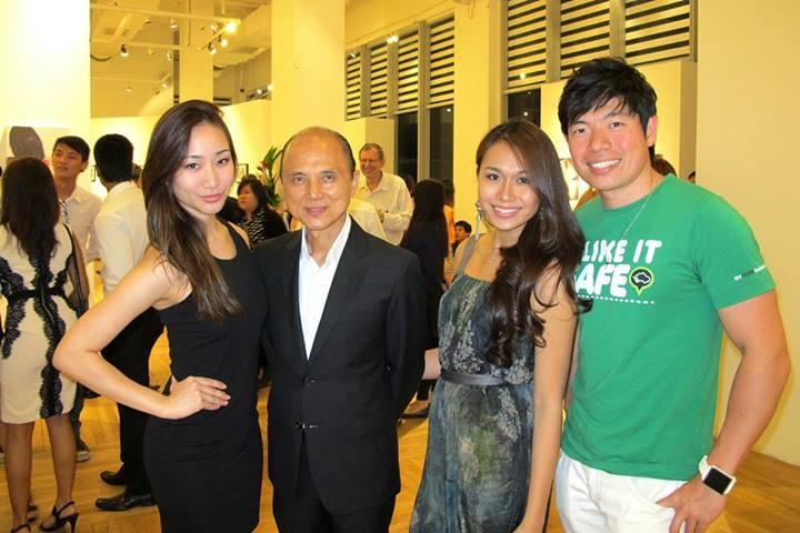 Melissa, Dato' Jimmy Choo, Magdeline, Anthony