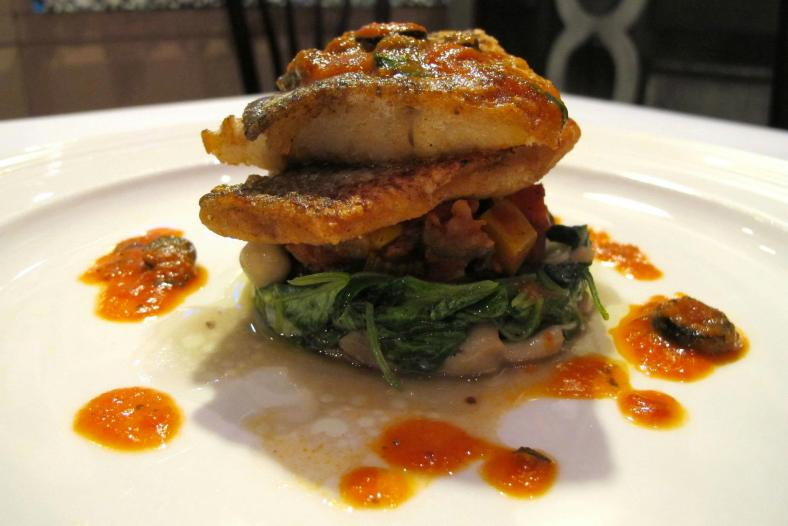 Pan-fried Sea bass with Lemon Sauce