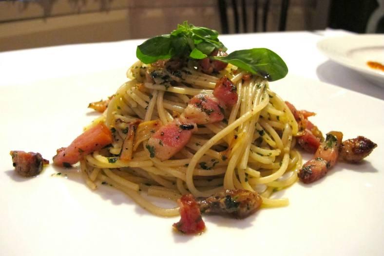 Spaghetti Pork Belly