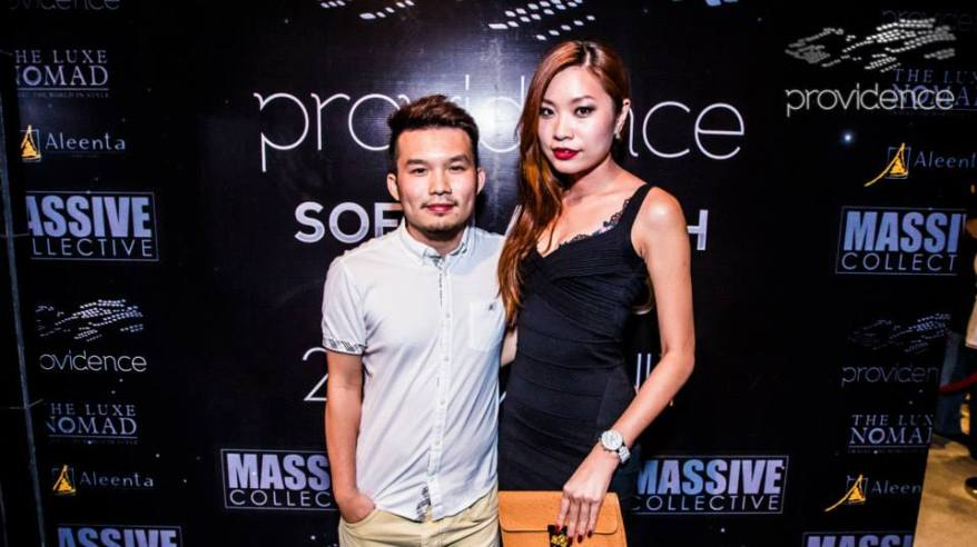 MHB's Valerie Chua with her partner