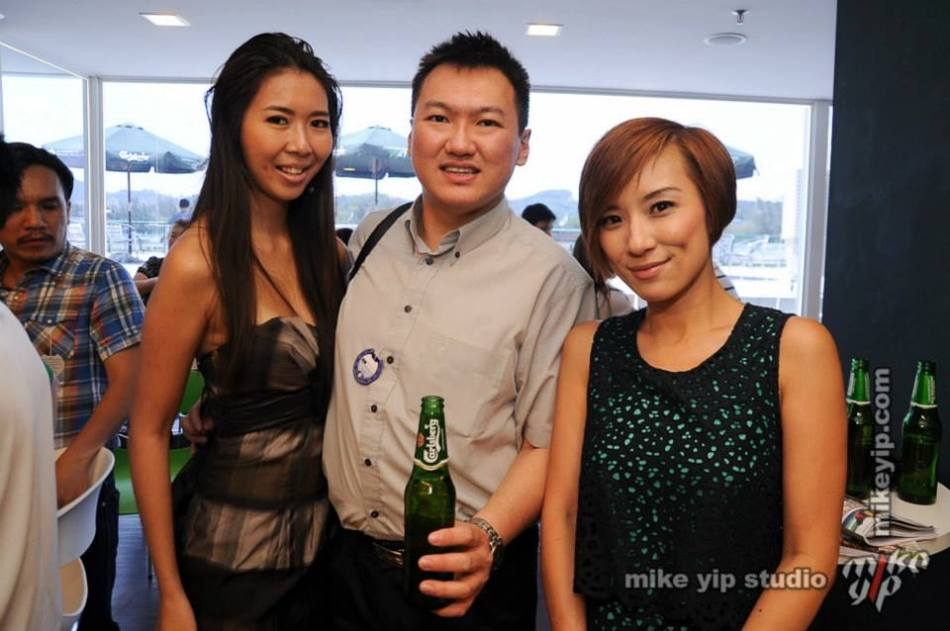 With June my partner in crime for the day and Chui Ling who was hosting the event