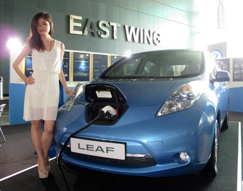 The Nissan Leaf which Nissan has been previewing for much of 2013 will apparently be available by the end of the year.