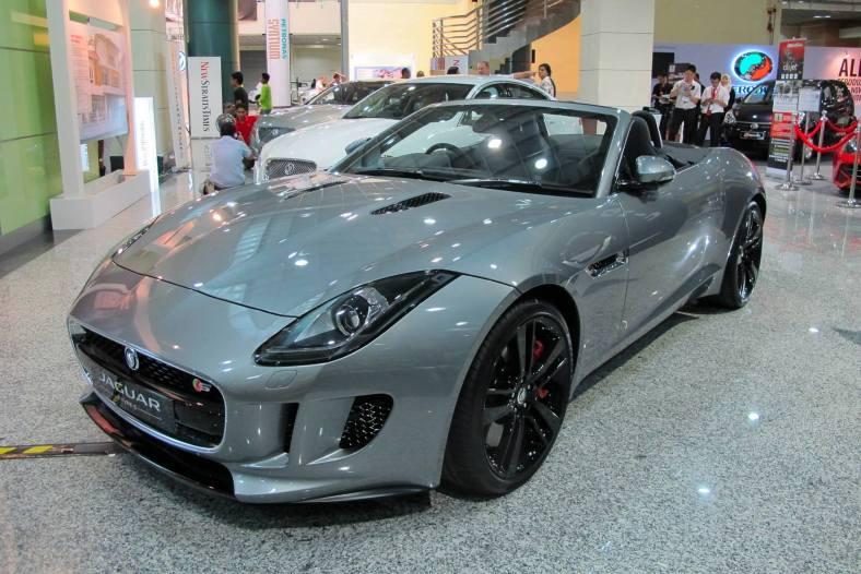 A beautiful new Jaguar