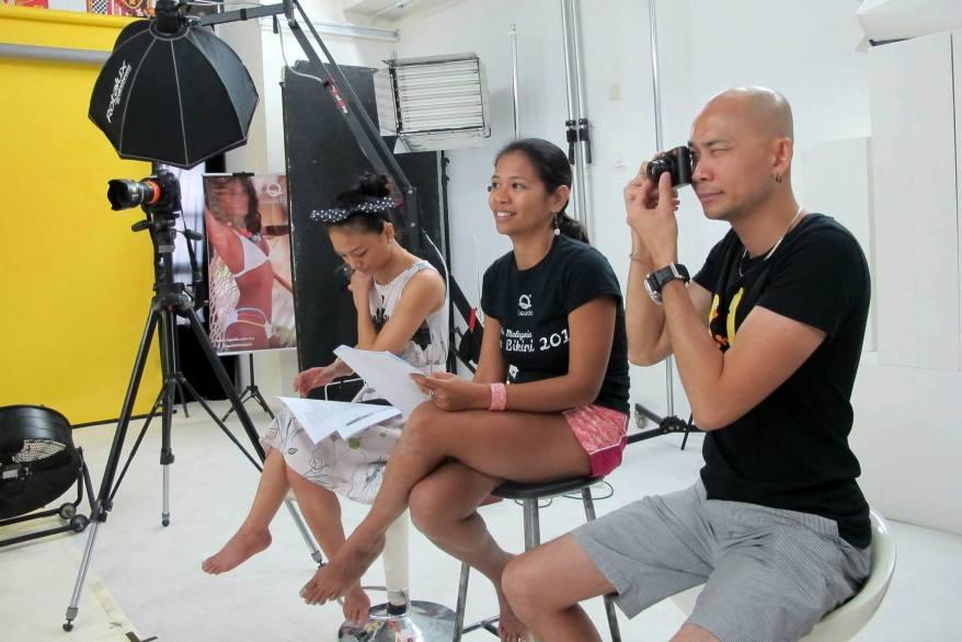 On the panel were Malaysian songstress Atilia, Liquido Malaysia founder Nadia, and celebrity photographer Andy Kho