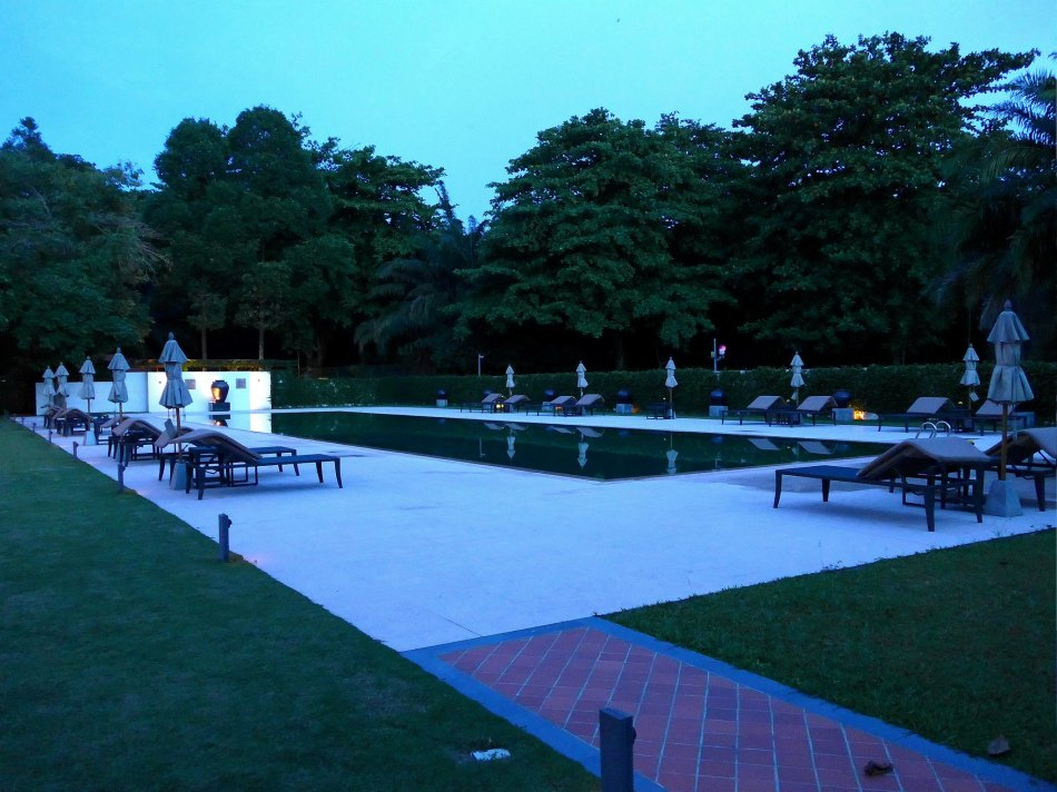 The Club at Saujana has it's own large swimming pool.