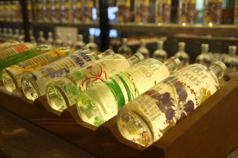 You can get many different flavours of ABSOLUT vodka including the limited edition ABSOLUT Hibiskus