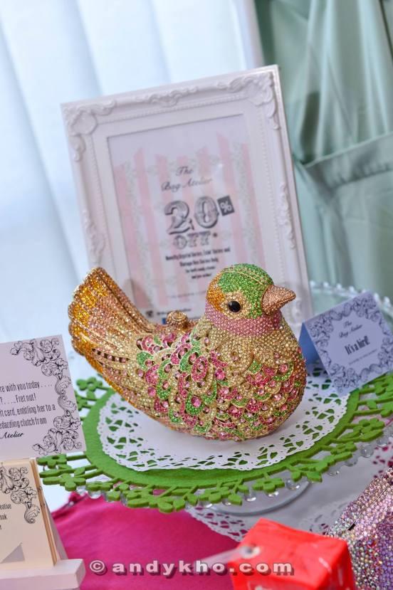 Fancy a shiny bird bag?