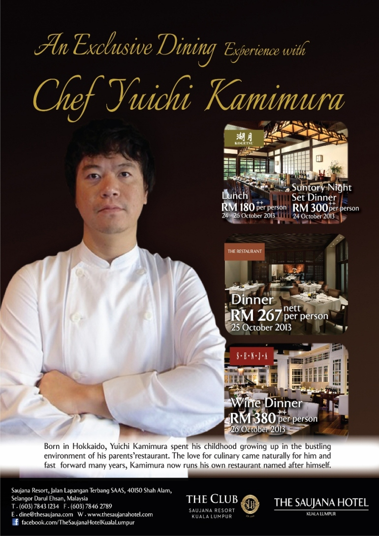 Chef Yuichi Poster A3 Size (Final Output) 1 Oct 2013 (905x1280)