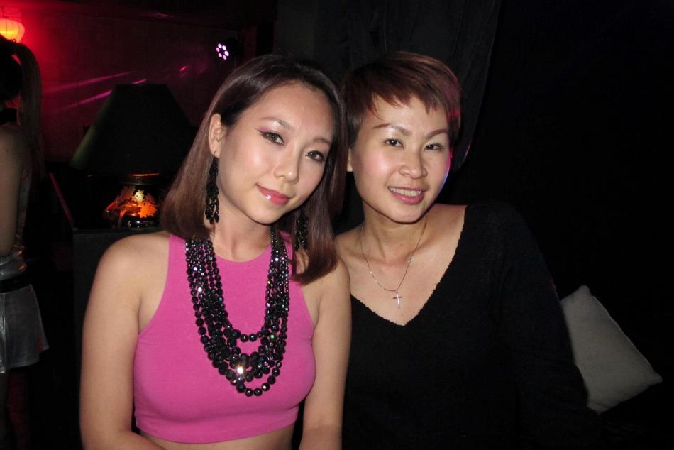 DJ Nikki and Sara Ayumi