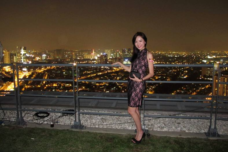 The view from Stratosphere - absolutely stunning! You can see the whole of Damansara and even the twin towers on a clear night!