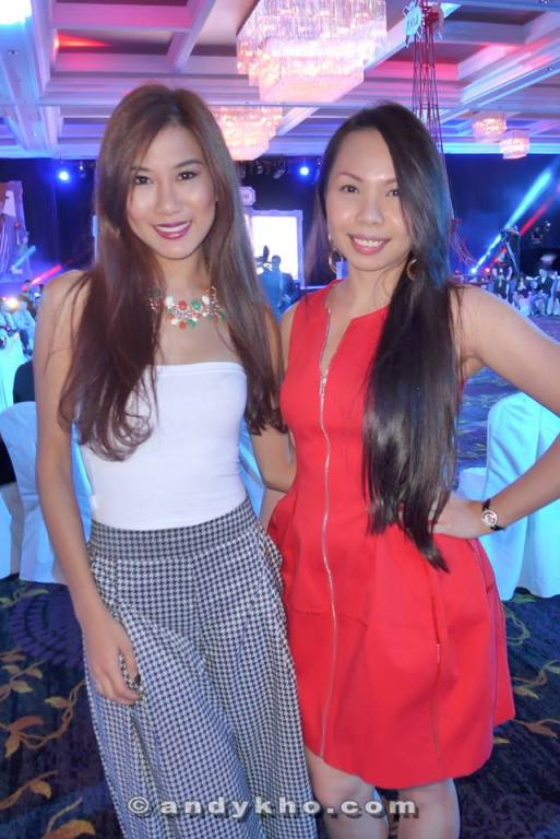 Miss World Malaysia 2012 Lee Yvonne with Hazel Loke