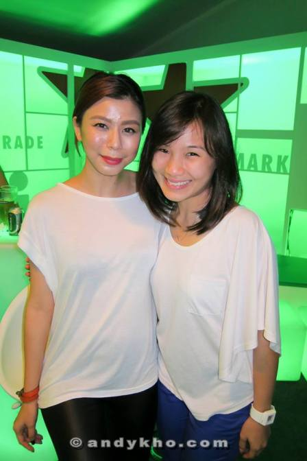 Michelle Ooi spotted with a cute friend