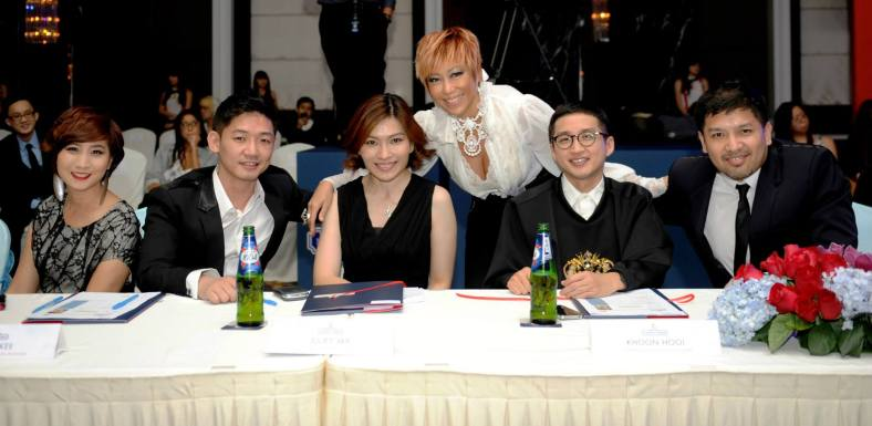 The panel of judges