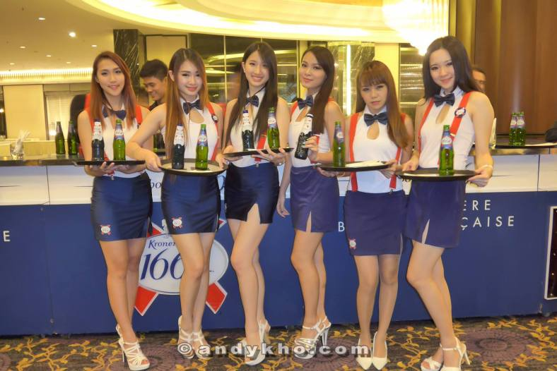 I really like the Kronenbourg 1664 promoter girls uniform