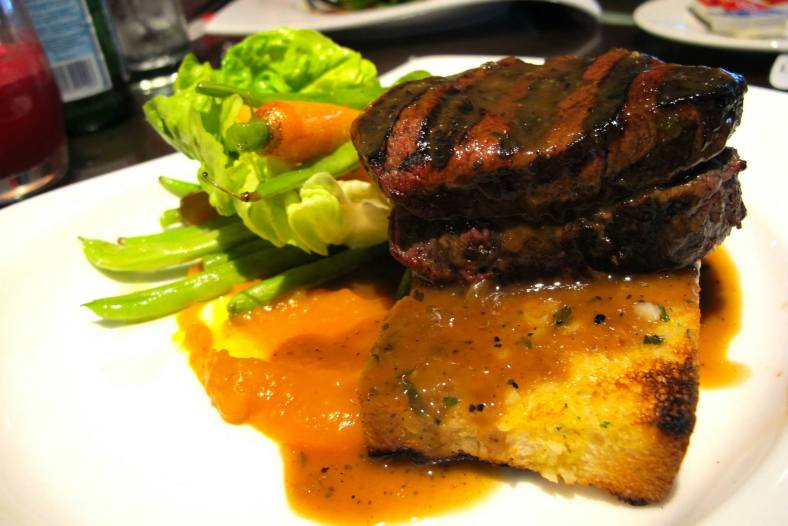 Black Angus Beef Tenderloin coated with Crusted Herbs – RM118++