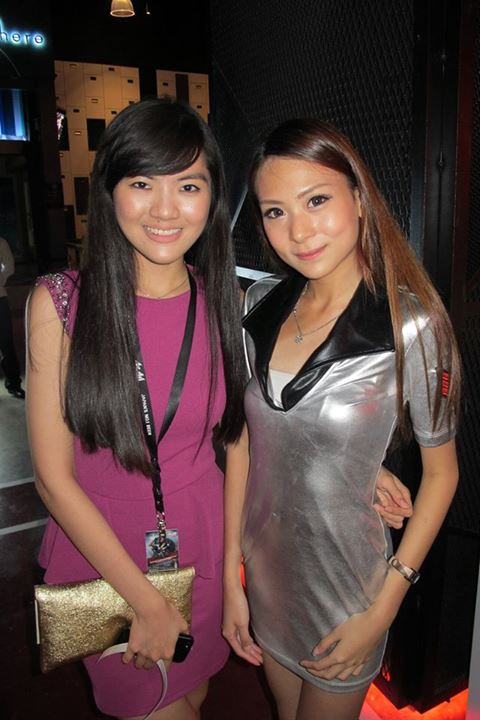 Elooise with an Asahi girl