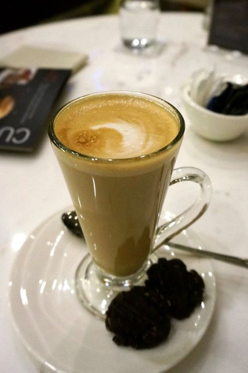 Capped off the night with a double shot latte at Gastro Sentral on the ground floor of the hotel.