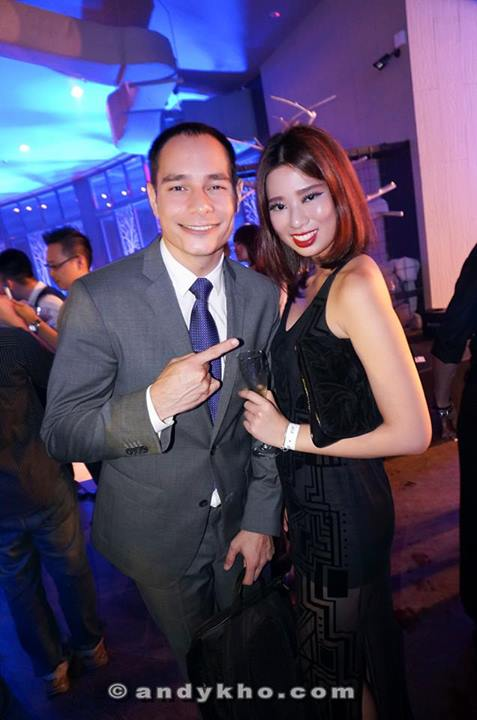 Joey G was the host of the event much to the delight of Estelle who happily took a photo with him