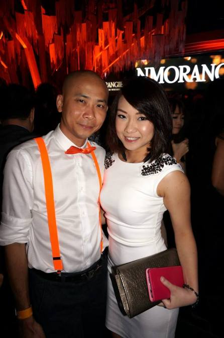 Guys received a set of exclusive Glenmorangie orange bow ties and suspenders, which is in line with the brand's Orange Parties.