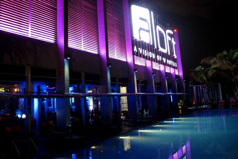 Aloft KL Sentral is super strategically located right beside KL Sentral making it very accessible indeed! Parking is a breeze as well as the hotel has many floors of car park and I've never experienced a totally full car park there.