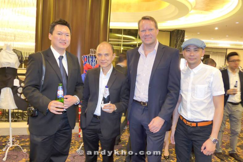 A pic with Dato Jimmy Choo, Henrik Andersen the Managing Director of Carlsberg Malaysia, and Andy Kho (L-R)