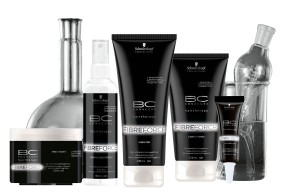 The Schwarzkopf Professional BC Fibre Force range