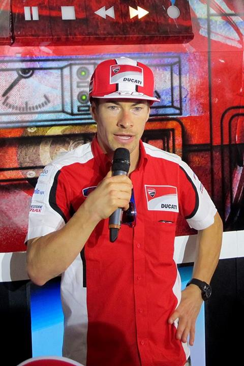 Ducati rider Nicky Hayden aka the Kentucky Kid came for a special appearance and also signed some merchandise which was given out later through the games.