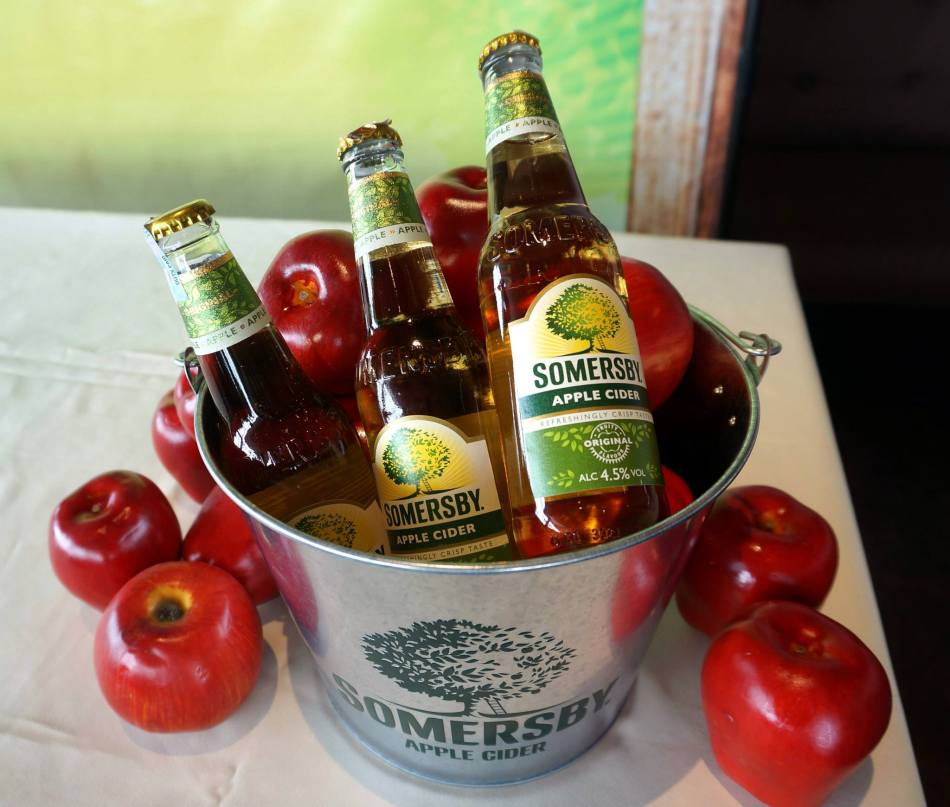 Lots of refreshing cider which was perfect for a warm and sunny afternoon