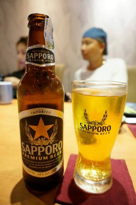 There's also Sapporo Beer which is a favourite of mine!