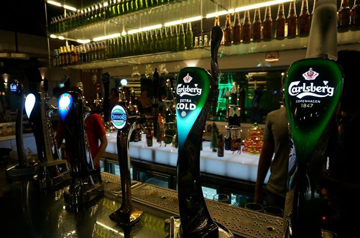 We got to drink all the beers on tap as well as some bottled favourites such as Somersby cider, and Erdinger, and even ice-cold shots of Jägermeister!