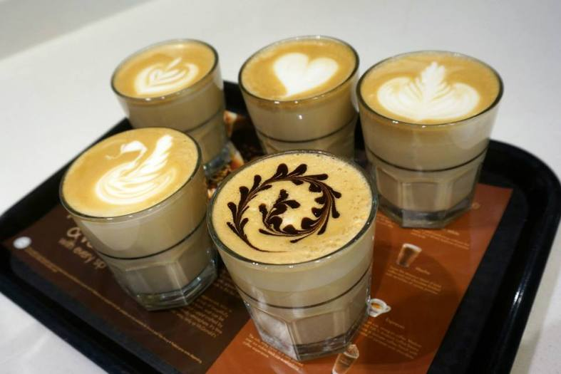 Of course the more advances art takes a skilled barista so don't be too demanding
