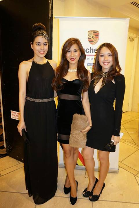 Bevy of beauties - Miss World Malaysia 2011 Chloe Chen, Miss World Malaysia 2012 Lee Yvonne, and popular MC Julie Woon (L-R)