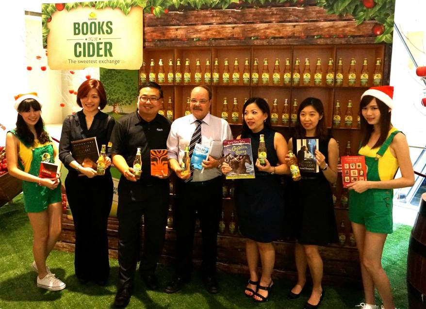 The campaign is also supported by Times bookstores, and Mercato, and proceeds will go to the One for One Charity.