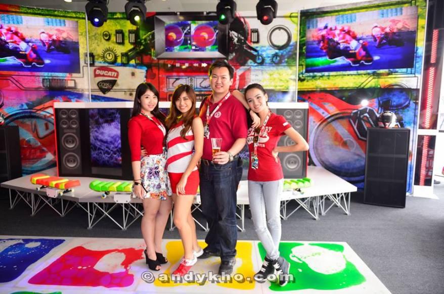 Pic with May Shan, Hanli Bubu and Stephanie